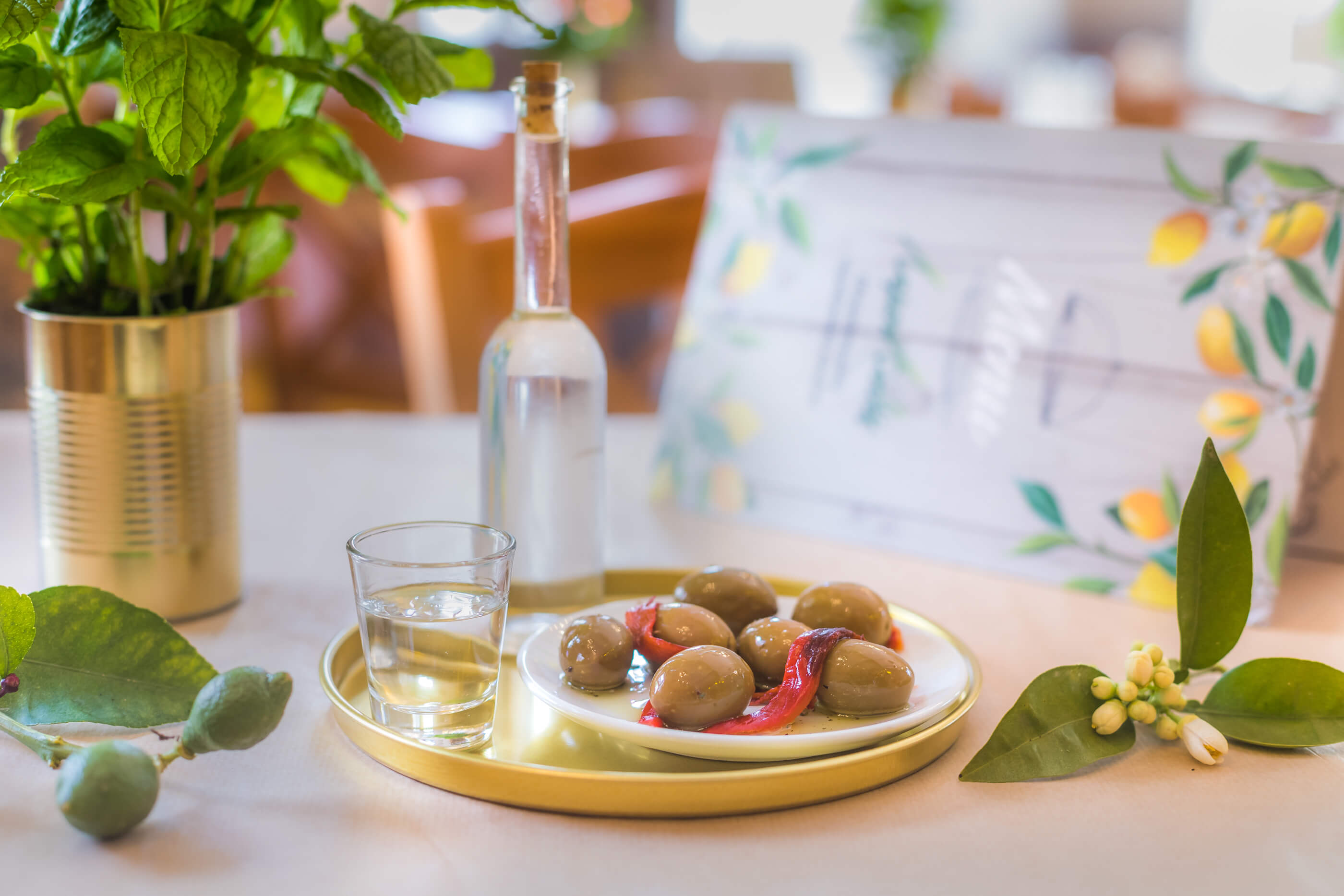 kalosorisma - lemonanthos